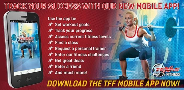 Texas Family Fitness Mobile App